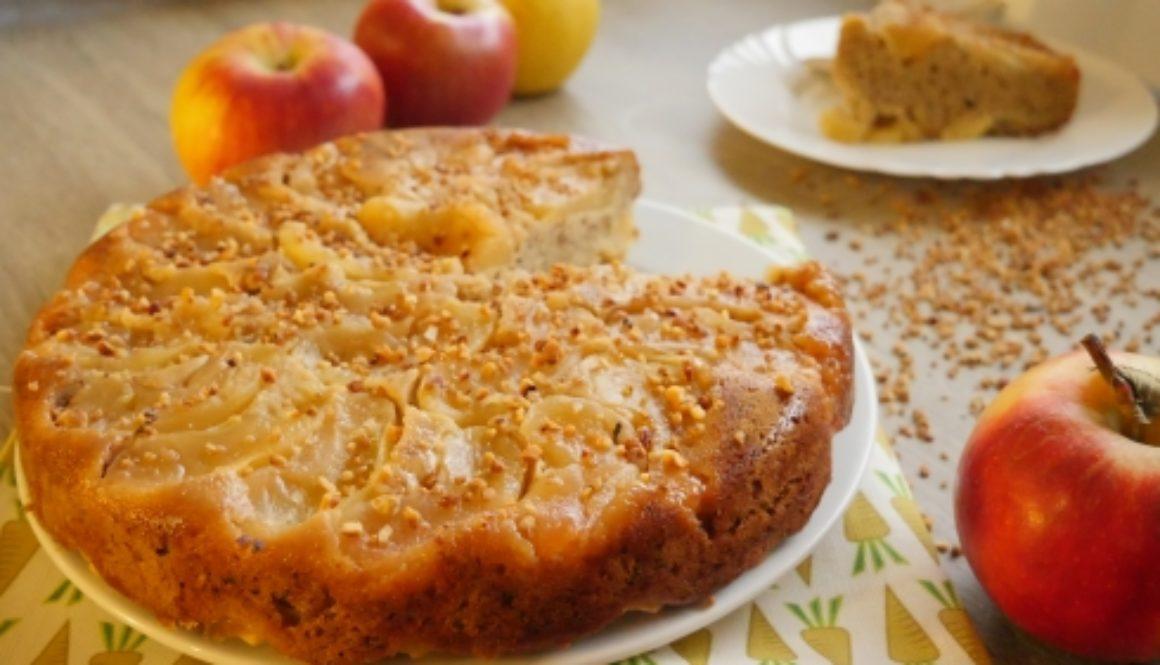 Gâteau aux pommes praliné (7)