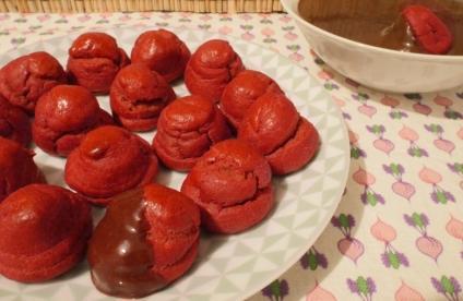 minis choux et sauce chocolat (2)