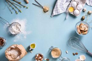 Les ingrédients de la pâtisserie healthy